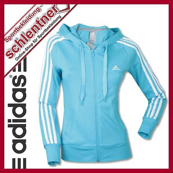 adidas track top hoody ess 3s hood jacket trainingsjacke kapuzen jacke ebay. Black Bedroom Furniture Sets. Home Design Ideas