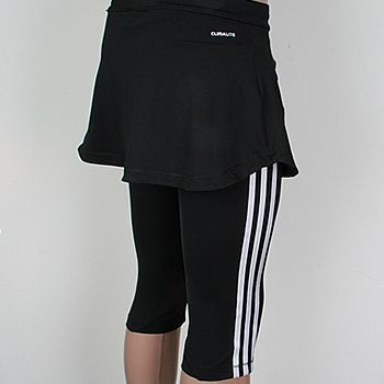 adidas capri mit rock cl q2 scapri leggings fitness tight. Black Bedroom Furniture Sets. Home Design Ideas